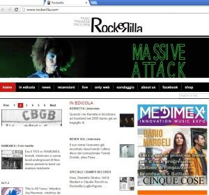 rockerilla italy italia front page